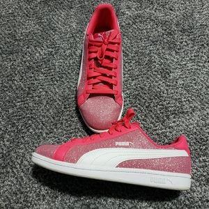 Puma Glitter Sneakers-Size 7Y = 8.5 W
